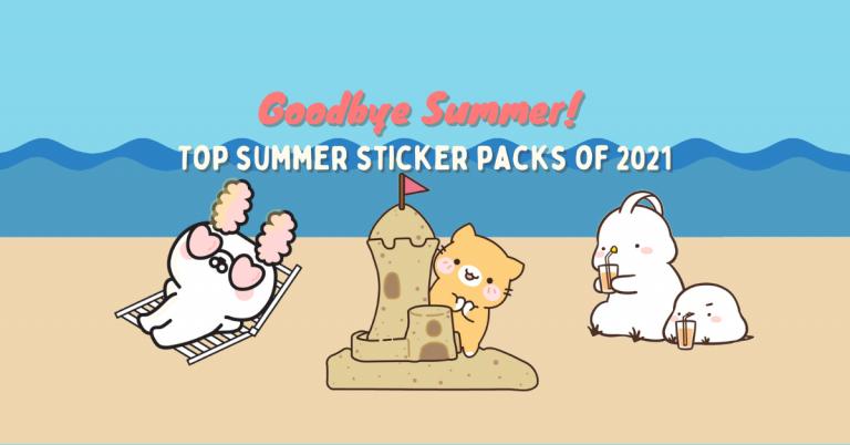 Goodbye Summer! Top summer sticker packs of 2021