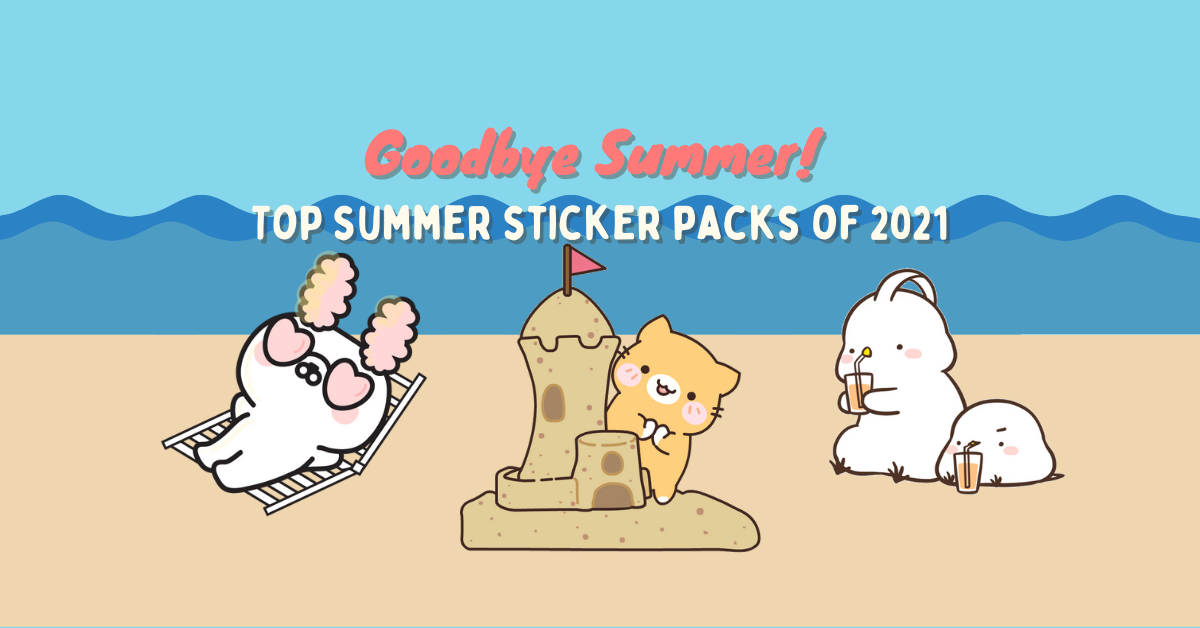 summer sticker packs