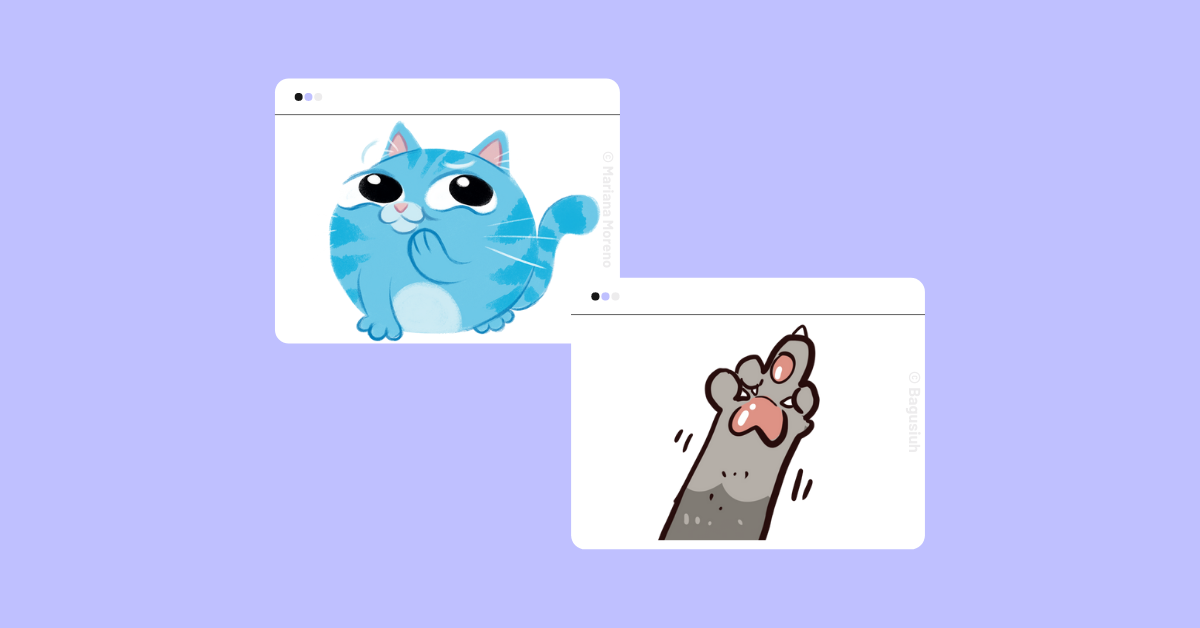 example of cute and sassy stickers that gen zers love