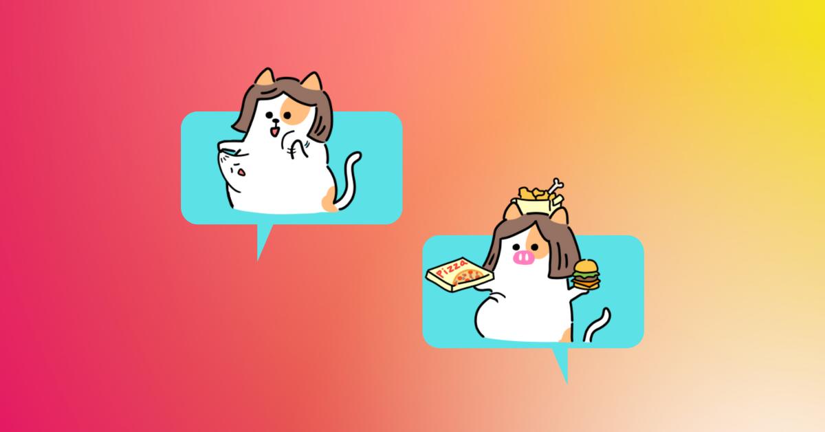 the cat with bobbed hair sticker pack