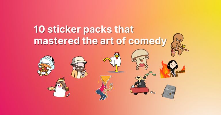 10 sticker packs that mastered the art of comedy